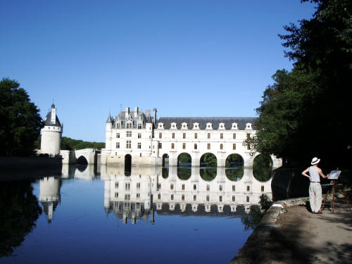 Chenonceau chateau (French castle)