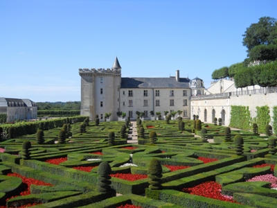 Chateau of Villandry and its gardens